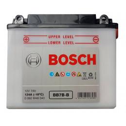 Bateria para Moto Bosch BB7B-B 12v - + 7AH CCA 124A L147mm AN60mm AL130mm