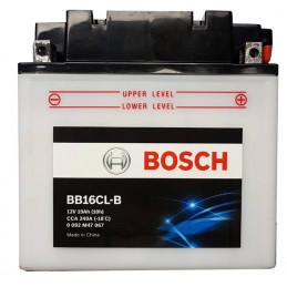 Bateria para Moto Bosch BB16CL-B 12v - + 19AH CCA 240A L175mm AN100mm AL175mm
