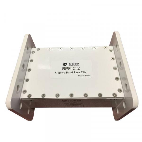 Filtro Pasa Banda Norsat BPF-C-2, para LNB C-Band 3.625 - 4.20 GHz Band Pass Filter