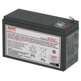 Bateria de Reemplazo APC RBC17, Cartucho para recambio 17 para UPS