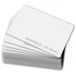 Tarjeta de Proximidad Zkteco ID Card Thin, Pack 50 Tarjetas delgada 125khz Solo Lectura