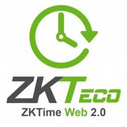 Licencia ZKTime Web 2.0 Zkteco ZKTIMEWEB-10, Gestion via WEB 10 Dispositivos 3000 Empleados