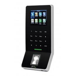 """Control de Acceso IP Zkteco F22ID, 2.4"""" TFT Capacidad 3000 Huellas Tarjeta ID para Cerradura Eléctrica y otros WIFI USB"""