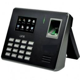 """Control Asistencia y Tiempo Zkteco LX16, 2.8"""" TFT Capacidad 500 Huella Digital Descarga de Registro By USB"""