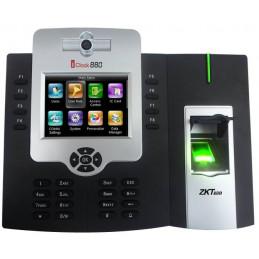 """Control Asistencia IP Zkteco ICLOCK880-H/ID, 3.5"""" TFT Capacidad 50000 Huella Digital Tarjetas ID y fotografico RED RS232 USB"""