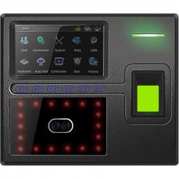 """Control Asistencia IP Y Acceso Zkteco uFace402/ID, 4.3"""" TFT 3000 Rostros 4000 Huellas y Tarjetas ID RED USB"""