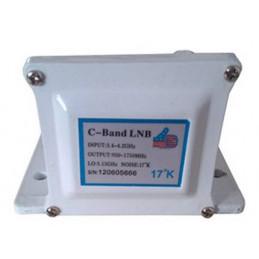 LNB AibiTech Banda C Single Polarity 17K, 3.4 - 4.2GHz Salidas RG6