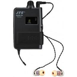 Auriculares in-ear JTS SIEM-2R+IE-1, 3.5mm de alta definicion Frecuencia medio agudo y bajos completos 3 fundas de Silicona