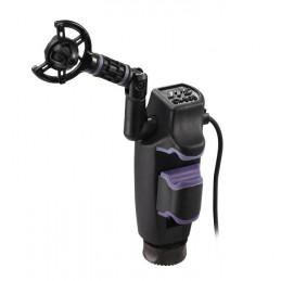 Microfono de instrumento JTS CX-505, de condensador para Baterias y Percusion con Clamp Salida XLR (M)