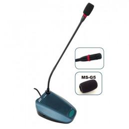 Microfono para Conferencia JTS CS-1DU/MS-G5, Altavoz interno con boton encendido y apagado