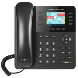 "Telefono IP GrandStream GXP2135, 4 líneas, LCD 2.8"" color, RJ-45 Gigabit PoE, Bluetooth"