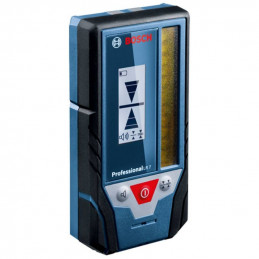 Receptor Laser Nivel Bosch LR 7, 50m interiores y exterior para GCL 2-50C, GLL 3-80C, GLL 3-80CG
