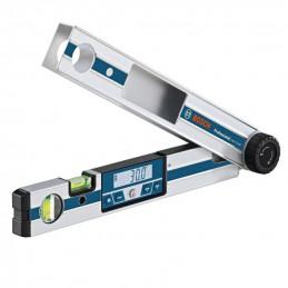 Medidor de angulos Bosch GAM 220 MF, Calculo de angulos cortes inglete y bisel 0-220 Grados