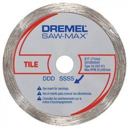 """Disco Corte Azulejo Dremel SM540, 3"""" DSM 540 para baldosas azulejos porcelana"""