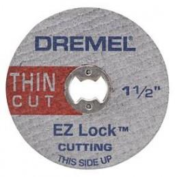 "Disco de Corte Metal Dremel EZ409, 1 1/2"" Corte Extrafino"