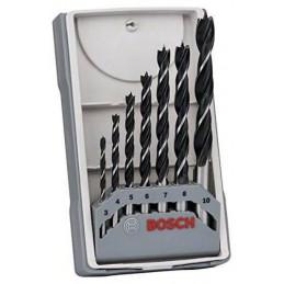 Broca Madera Bosch Set 07 Piezas 3,4,5,6,7,8,10mm 2607017034