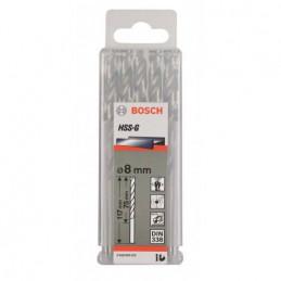 """Broca Metal HSS-G Bosch 15.9mm - 5/8"""" Acero Rapido 2608585466 para acero hierro 4 Unidades"""