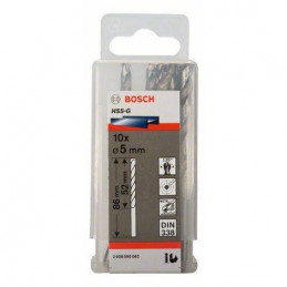 """Broca Metal HSS-G Bosch 7.9mm - 5/16"""" Acero Rapido 2608585452 para acero hierro 10 Unidades"""