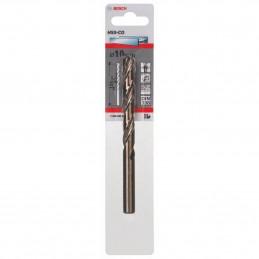 Broca Metal HSS Cobalto Bosch 10mm x87x133mm 2608585864 Para acero inoxidable hierro fundido