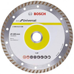 "Disco Diamante ECO Bosch 7"" x22.23mm 2608615038 Universal Turbo"