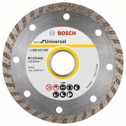 "Disco Diamante ECO Bosch 4 1/2"" x22.23mm 2608615036 Universal Turbo"
