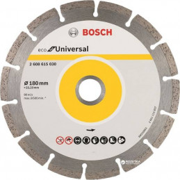 "Disco Diamante ECO Bosch 7"" x22.23mm 2608615030 Universal Segmentado"