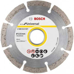 "Disco Diamante ECO Bosch 4 1/2"" x22.23mm 2608615027 Universal Segmentado"