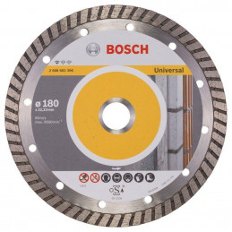 "Disco Diamante Profesional Bosch 7"" x22.23mm 2608602396 Universal Turbo Construccion Metal"