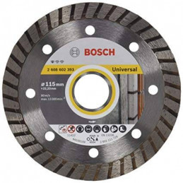 "Disco Diamante Standard Bosch 4 1/2"" x22.23mm 2608602393 Universal Turbo Construccion Metal"