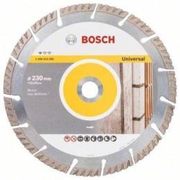 """Disco Diamante Standard Bosch 9"""" x22.23mm 2608615065 Universal Segmentado Construccion Metal"""