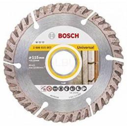 """Disco Diamante Standard Bosch 4 1/2"""" x22.23mm 2608615057 Universal Segmentado Construccion Metal"""