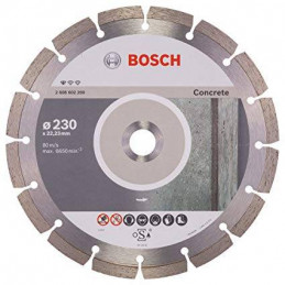 "Disco Diamante Standard Bosch 9"" x22.23mm 2608602200 para Hormigon Duro"