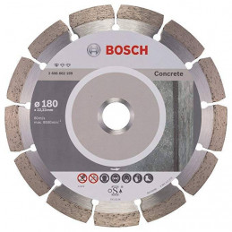 "Disco Diamante Standard Bosch 7"" x22.23mm 2608602199 para Hormigon Duro"