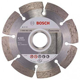 "Disco Diamante Standard Bosch 4 1/2"" x22.23mm 2608602196 para Hormigon Duro"