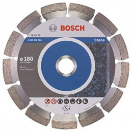 "Disco Diamante Standard Bosch 7"" x22.23mm 2608602600 para Roca Natural"