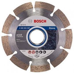 "Disco Diamante Standard Bosch 4 1/2"" x25.4mm 2608602597 para Roca Natural"