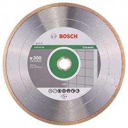 """Disco Diamante Profesional Bosch 12"""" x30x25.4mm 2608602540 para Ceramica y azulejos"""