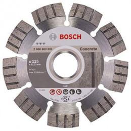 """Disco Diamante Best Bosch 4 1/2"""" x22.23mm 2608602651 para Hormigon Duro y Hormigon Armado"""