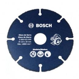 """Disco Diamante Madera Bosch 4"""" DI 20mm 2608623003 para madera con clavos"""