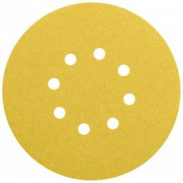 Disco de Lija Madera Bosch C470, 150mm, 6 huecos, Grano 150 Cajax50 2608608442