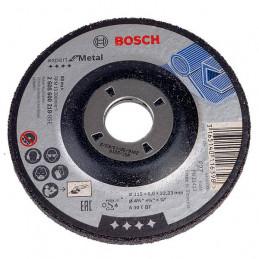 "Disco Abrasivo Desbaste Bosch Metal 4 1/2"" - 115mm x6.0mm Expert 2608600218"