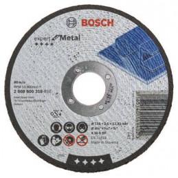 "Disco Abrasivo Corte Bosch Metal 4 1/2"" - 115mm x2.5x22.23mm Expert 2608600318"