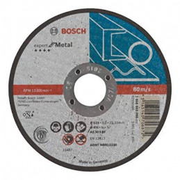 Disco Abrasivo Corte Bosch Metal 4 1/2 - 115mm x3.0mm Expert 2608603395