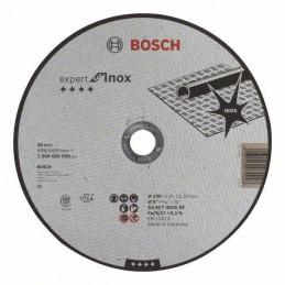 "Disco Abrasivo Corte Bosch Inox 9"" - 230mm x2.0mm Expert 2608600096"