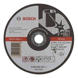 "Disco Abrasivo Corte Bosch Inox 7"" - 180mm x2.0mm Expert 2608600095"
