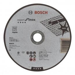 "Disco Abrasivo Corte Bosch Inox 7"" - 180mm x1.6mm Expert 2608603406"