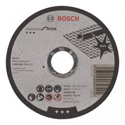 "Disco Abrasivo Corte Bosch Inox 4 1/2"" - 115mm x1.6x22.23mm Standard 2608603170"