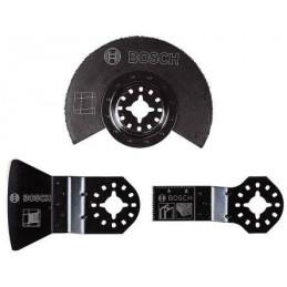 Juego de Cuchillas OMT Bosch Set Basico 3 pzs 2608662342 para Azulejos