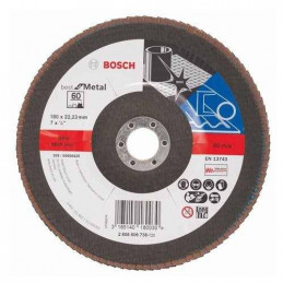 "Disco Flap Metal Bosch 7"" Grano 60 Best 2608606738"