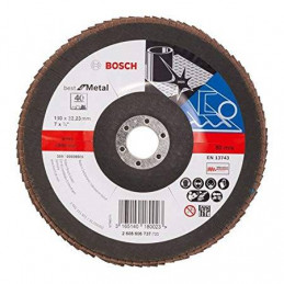 "Disco Flap Metal Bosch 7"" Grano 40 Best 2608606737"